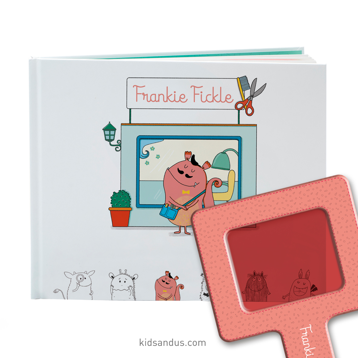 In the Summer Readers, discover the new adventure of Frankie Fickle