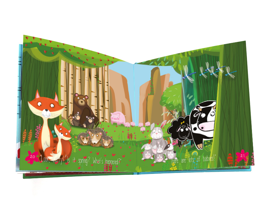 Read Betty Sheep and the Seasons book