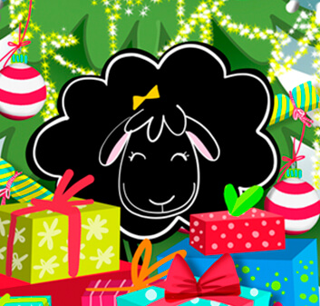 Betty Sheep Christmas-Memory